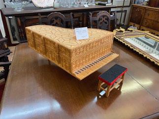 Matchstick Piano Jewelry Box $245.00
