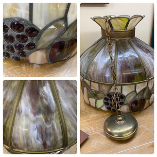 Quoizel (Tiffany Style) Light Fixture $295.00