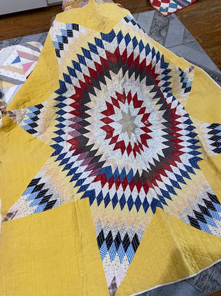 Yellow Quilt Star $65.00