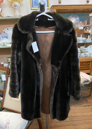 Faux Fur Jacket by Tissavel $55.00