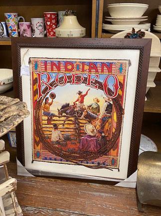 Indian Rodeo by Buckeye Blake