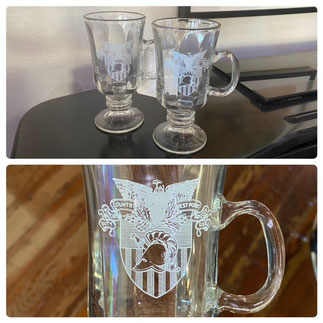 Set of Two West Point Irish Coffees $15.00