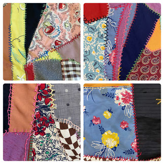 Close Up Photos Crazy Quilt