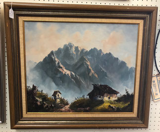 Rustic Cabin with Mountain $145.00