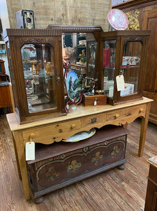 English Pine Table $225.00  Trunk $295.00
