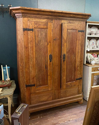 Circa 1850 Pine Wardrobe $1,395.00