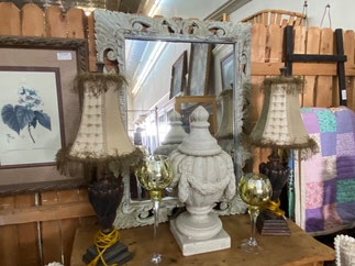 Mirror $195.00 Lamps $95.00 each