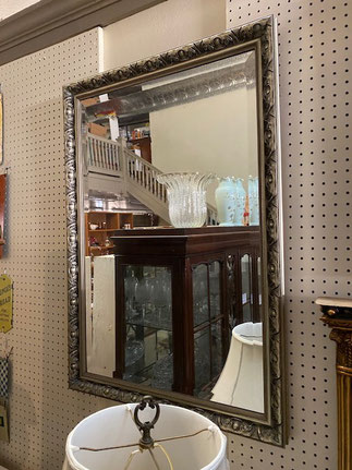 Large Silver Mirror $75.00