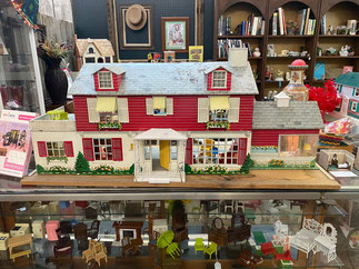 Doll House with 35 Pieces Original Furniture $255.00
