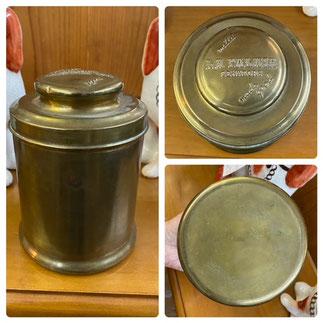 Brass Humidor $12.50