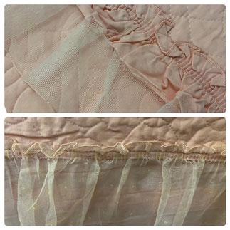 Twin Pink Bedspread Tulle Ruffle $45.00
