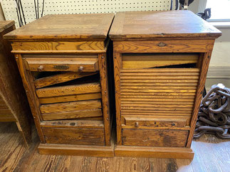 Antique Type Drawer Cabinets $295.00 each