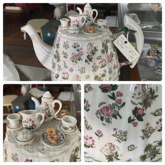 Botanic Garden Tea Party Tea Pot $49.00 Plus 25% Off