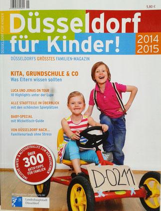 Düsseldorf für Kinder mit Familienfreizeittips, Ausflugszielen und vielen Infos