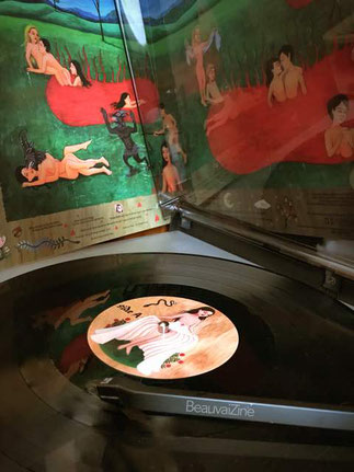 Apnea koonda Holaa, pochette de Kinder-K, celebration days, guerrilla records, beauvaizine