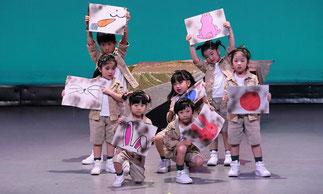 1-02.はじめてキッズダンス(tamaki)|可愛いキッズ探検隊!初めて舞台に立つメンバーも堂々と踊っています!