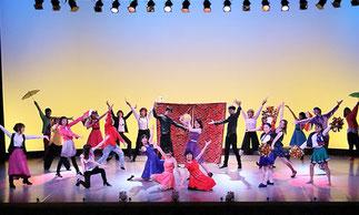 1-09.ジュニアプリンセス(ゆーみん) サーカスみたい!一輪車もあってにぎやかで楽しいダンス!