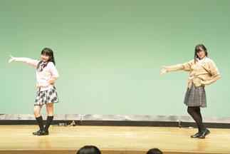 21.チームS.A|ハニカムから可愛い二人組で、制服でキュートなダンス!