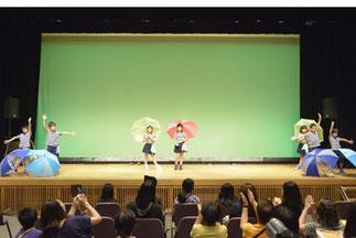 8.Skid fine|草加の美帆サークル。傘を使った可愛いダンス!