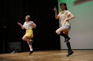 03.CAPRI|講師まりりんとお友達のチーム。さわやかな風が吹くようなダンス