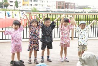 11.MAX-KIDS☆poppins|美帆のキッズの生徒さん。甚平で夏らしい!