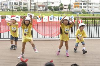 4.ヒップホップキッズ|Lickinキッズクラス。小さいみんなが、精一杯、しっかり踊ってました!