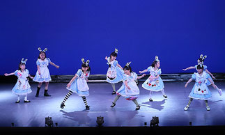 1-04.キッズプリンセッサ(ゆーみん)|たくさんのアリス達の登場に会場もワクワク♪それぞれ個性的でとっても可愛い♪