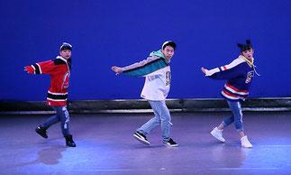1-08.ヒップホップ(MACHA)| 3人のバランスがとても良いですね!踊りもピッタリ揃ってます!