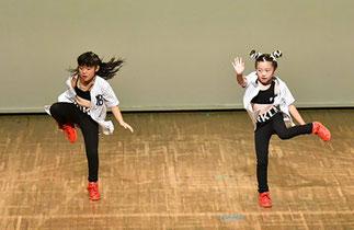 11.めるほの|せんげん台のダンススタジオのキッズ2人組(1人はクロイツメイト)。カッコよかったです!