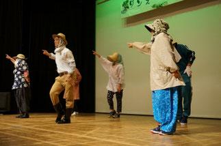 15.おのぼりさん's(日曜『ロック』講師NOBOO)|ロッククラス!とっても面白い演出でノリノリ♪「ツルカメ賞(おもしろかったチーム)」