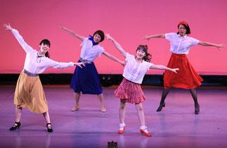 2-06.ジャズ初級(まりりん)|ママとパパの高校生時代にタイムスリップ♪ちょっと懐かしい感じでダンス