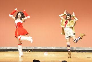 11.岩北産業|ハニカムから女子大生二人組。サンタとトナカイで可愛く♪