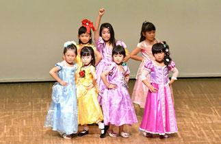 11.プリンセス宮殿 土曜『プリンセスキッズ』代講:祐佳|可愛いプリンセスたちにロマンティック賞!