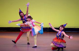 1-09.ジュニアプリンセス(ゆーみん)|サーカスみたい!一輪車もあってにぎやかで楽しいダンス!