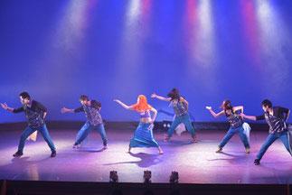 38(ミヤ)クラスのヒップホップ!人魚姫も踊ります。