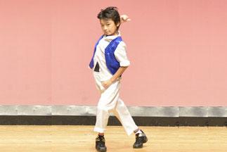10.蒼真|小学5年生。ソロで懐かしの「抱きしめてトゥナイト」を踊りました。「インパクト賞(印象的だったチーム)」
