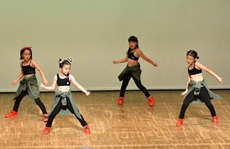 16.センゲンダイナソーズ|せんげん台のダンススタジオのキッズ4人組(1人はクロイツメイト)。クールなダンスで新人賞受賞!