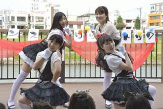 14.クロイツ学園アイドル部|ラブライブの曲でアイドルダンス♪ かわいい~!