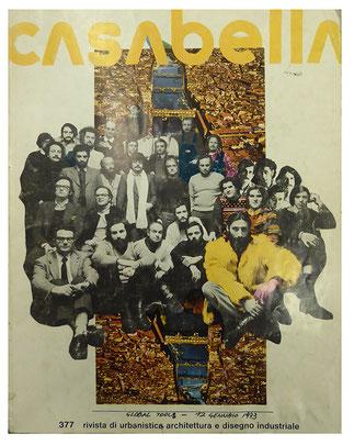 Copertina di 'Casabella', n. 377, Maggio 1977.