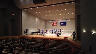 2日目の閉会式です。すばらしい演奏ありがとうございました。