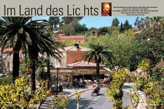 Kurven, Kehren und Cafés in Bormes-les-Mimosas