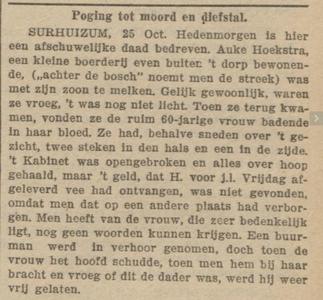 Nieuwsblad van Friesland : Hepkema's courant 27-10-1909