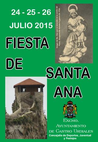 Fiestas de Santa Ana en Castro Urdiales 2015