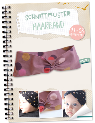FREEBOOK: Schnelles Haarband Tutorial - Lybstes.