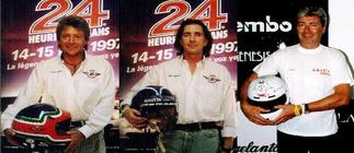 1997. RICCARDO AGUSTA, ALMO COPPELLI, ERIC GRAHAM.