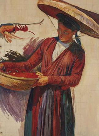 "25 MAI 2014 CHRISTIE'S ""LA TONKINOISE AU PEINTRE"" 1923"