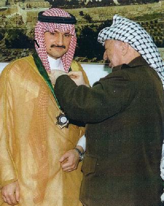 GAZA 2000. Avec YASSER ARAFAT.