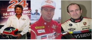 1995. RICARDO AGUSTA, EUGENE O'BRIEN, ROBIN DONOVAN