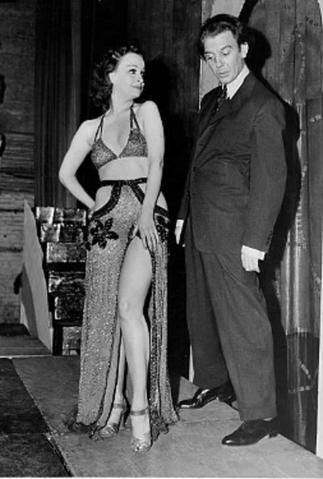 14 Sept. 1939. BETTY et son mari Gus SCHILLING