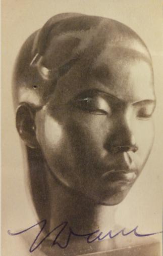 1927 TÊTE INDOCHINOISE. C* NGÔ KIM KHÔI.^^  <<<<<<<<<<<<JUILLET 1932 REVUE DE L'ART C* NGÔ KIM KHÔI